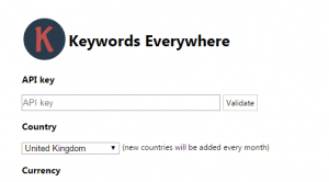 Keywords Everywhere installation