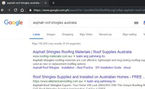 Roofing-materials.com.au #1 in Google for roof asphalt shingles australia